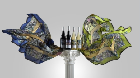 Valle Dell'Acate vini Bellifolli 2018: quattro storie e un foulard in limited edition