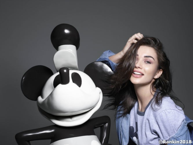 Micky Mouse & Me libro Rankin 2018: i ritratti con le star, da Kate Moss a Heidi Klum