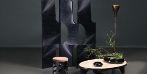 Alexander Lamont mobili 2018: la nuova collezione Intarsia