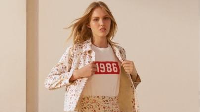 Max&Co T-Shirt 1986: la maglietta che celebra l'anno di nascita del brand