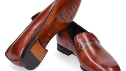 Pitti Uomo giugno 2018 Franceschetti: la capsule collection Trompe L'Oeil Shoes
