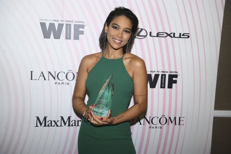 Women In Film Crystal + Lucy Awards 2018 Max Mara: premiata Alexandra Shipp