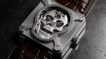 Bell & Ross BR 01 Laughing Skull: il nuovo segnatempo in limited edition