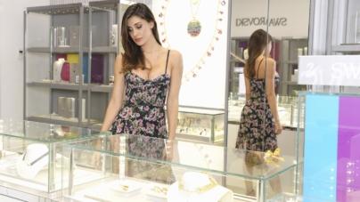 Swarovski Belen Rodrigez: il summer party a Milano
