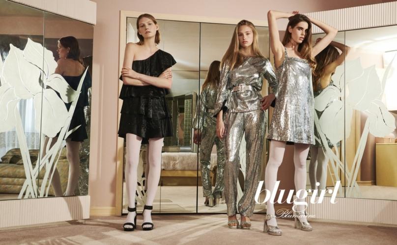 Blugirl campagna autunno inverno 2018 2019: atmosfere anni settanta