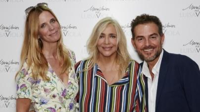 Luisa Viola Mara Venier collezione primavera estate 2019: la sfilata con Jerry Calà e Cristiano Malgioglio