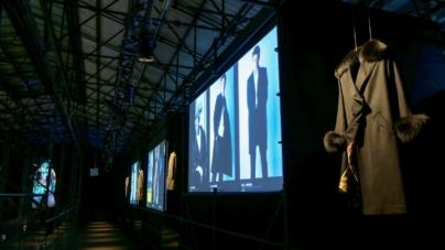 Herno 70 anniversario: l'installazione L.I.B.R.A.R.Y. alla Stazione Leopolda