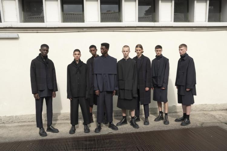 Jil Sander Uomo primavera estate 2019: la ribellione geometrica
