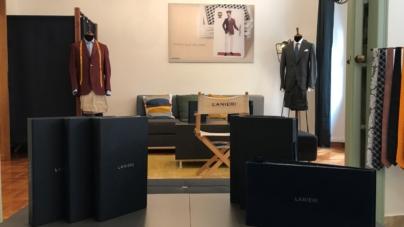 Lanieri abiti su misura Roma: il nuovo atelier, la polo made to measure e il fast delivery