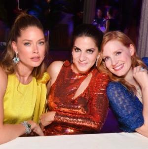 Piaget gioielli Sunlight Escape Parigi 2018: il party con Jessica Chastain e Doutzen Kroes