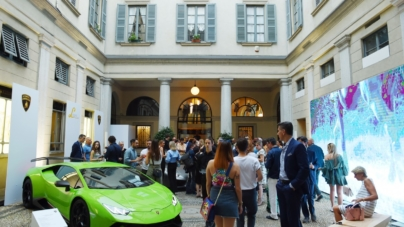Collezione Automobili Lamborghini primavera estate 2019: l'informal luxury