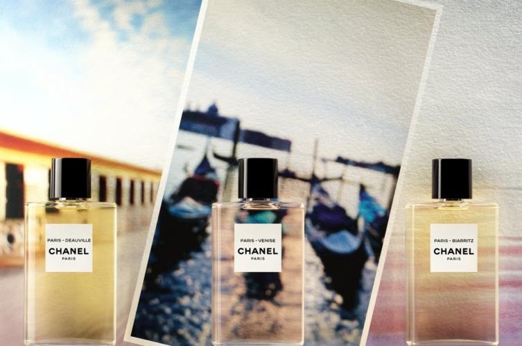 Les Eaux de Chanel profumi 2018: le nuove fragranze Paris-Deauville, Paris-Biarritz e Paris-Venise