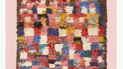Pitti Uomo Giugno 2018 Maliparmi: la collezione di tappeti Boucherouite di Afolki