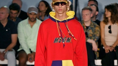 MSGM Uomo collezione primavera estate 2019: il color block e le stampe all over