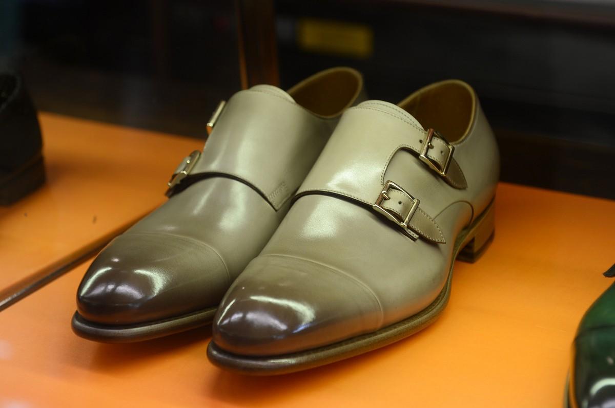 Santoni Uomo scarpe primavera estate 2019 | foto | Milano
