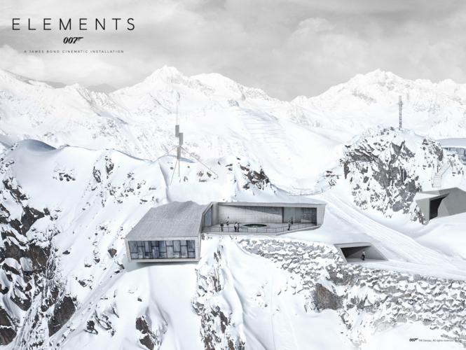 Solden Austria 007 Elements: la nuova installazione cinematografica dedicata a James Bond