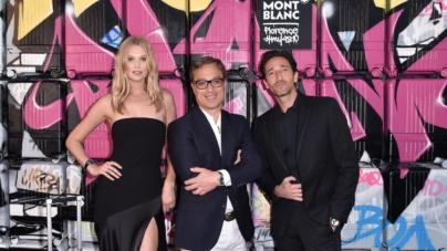 Montblanc valigie #MY4810: il party a Firenze con Adrien Brody, Toni Garrn e Winnie Harlow