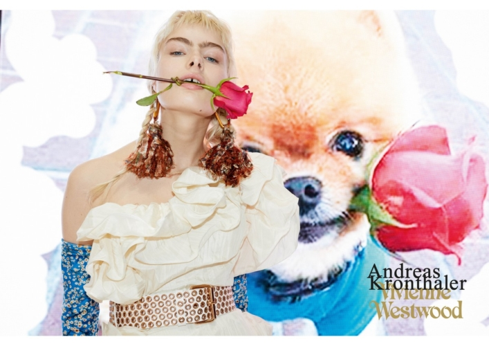 Andreas Kronthaler for Vivienne Westwood campagna 2018: il decadentismo Millennial