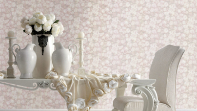 Blumarine Home Collection carta da parati 2018: la nuova Exclusive Preview Scented Wallpaper