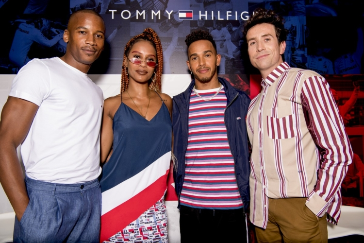Tommy Hilfiger Lewis Hamilton Londra 2018: il party che celebra #WHATSYOURDRIVE