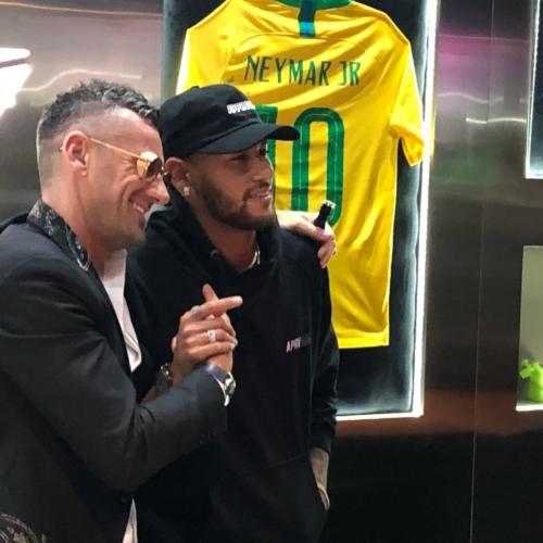 Gagà Milano boutique San Paolo: il party con Neymar Jr. e Bruna Marquezine