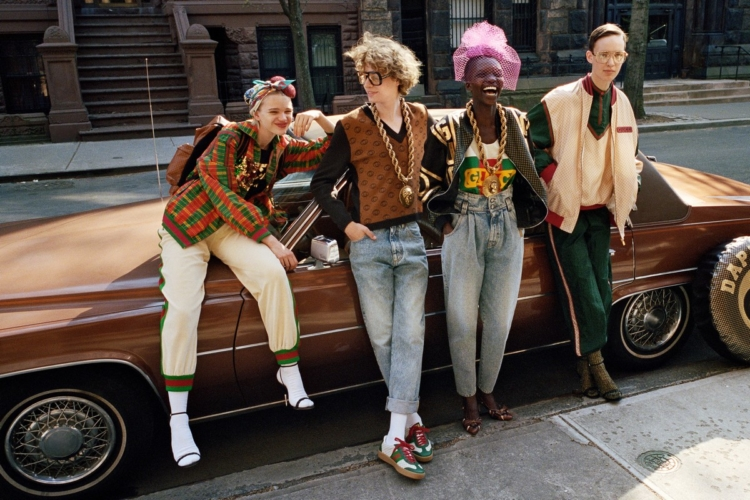 Gucci-Dapper Dan Collection 2018: l'estetica originale di Dapper Dan in versione guccificata
