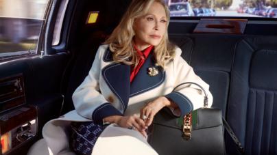 Gucci Faye Dunaway campagna 2018: protagonista la borsa Sylvie