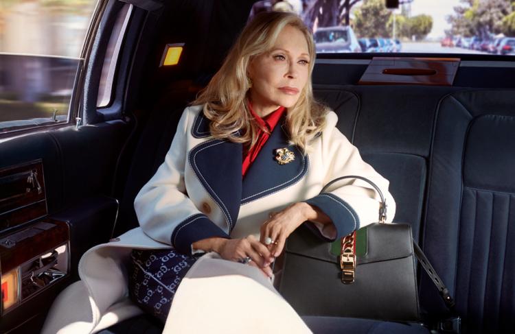 Gucci Faye Dunaway campagna 2018