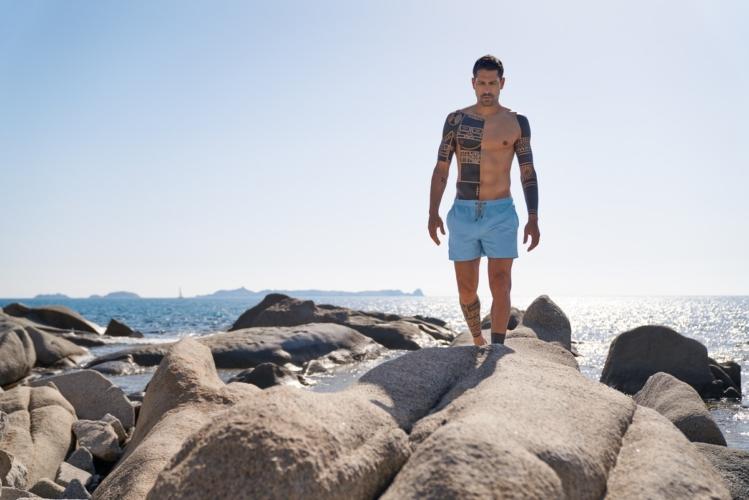 Intimissimi costumi da bagno uomo estate 2018: la campagna con Marco Borriello