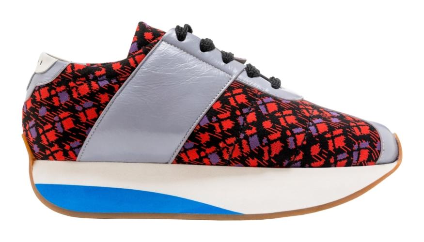 Marni sneakers donna PreFall 2018: le nuove Big Foot in colore audaci e spontanei
