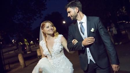 Matrimonio Noemi Gabriele Greco: la cantante sceglie un abito da sposa Atelier Emé
