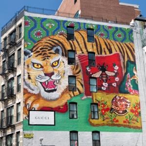 Gucci Art Wall Milano Luglio 2018: le illustrazioni dedicate alla linea Décor