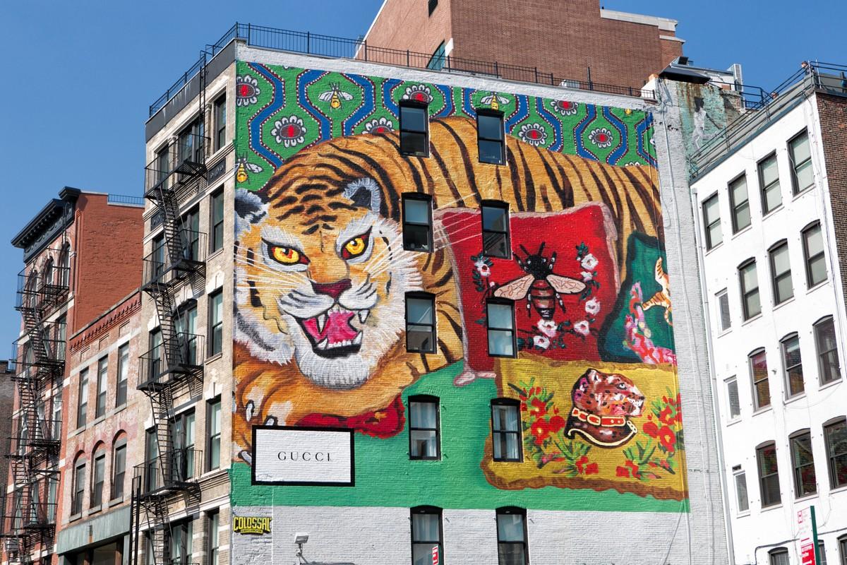 Gucci Art Wall Milano Luglio 2018
