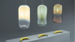 Artemide lampade da soffitto 2018: Gople Lamp riconcilia attraverso la luce gli spazi dell'uomo e la natura