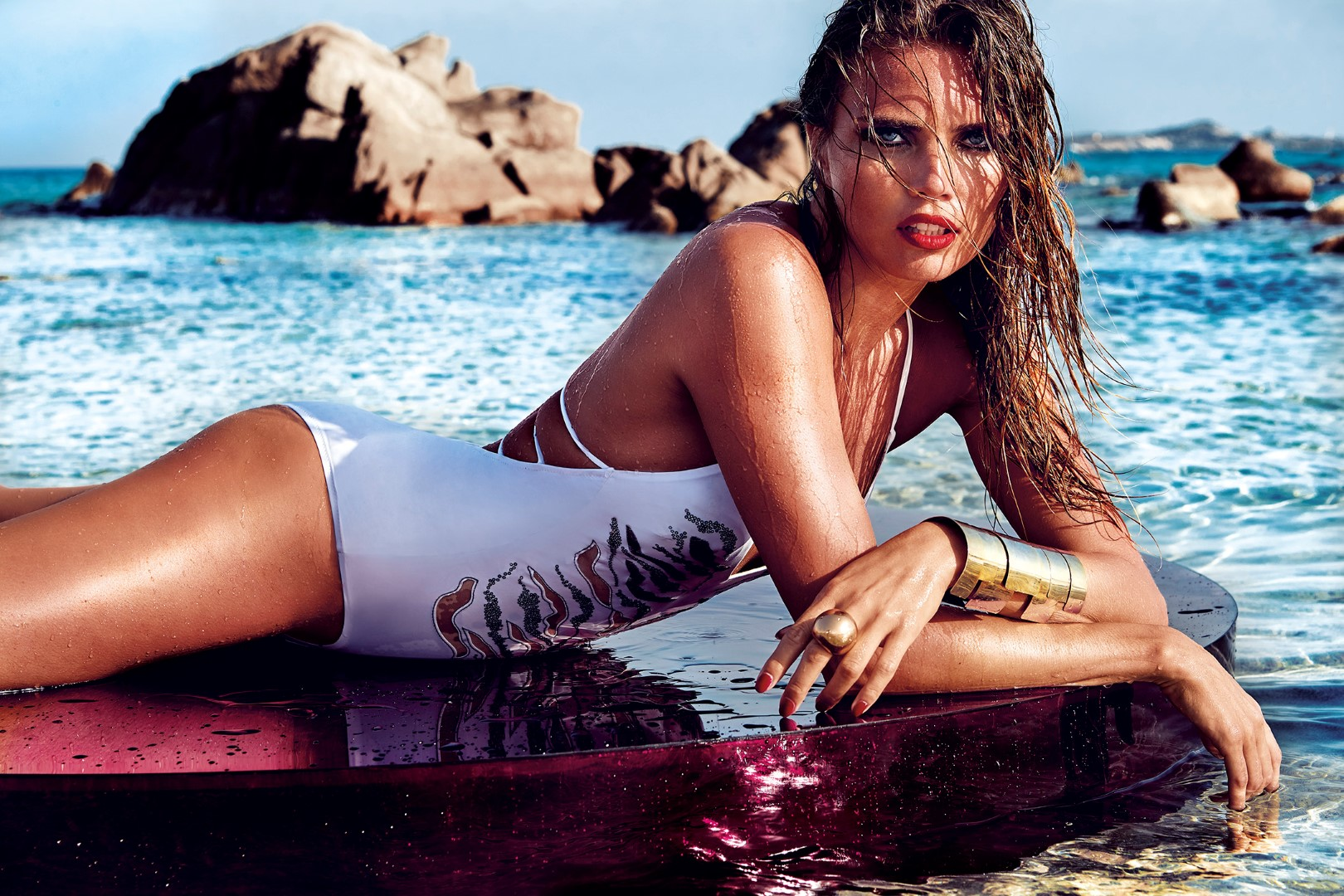 Costumi da bagno parah bikini intero beachwear foto