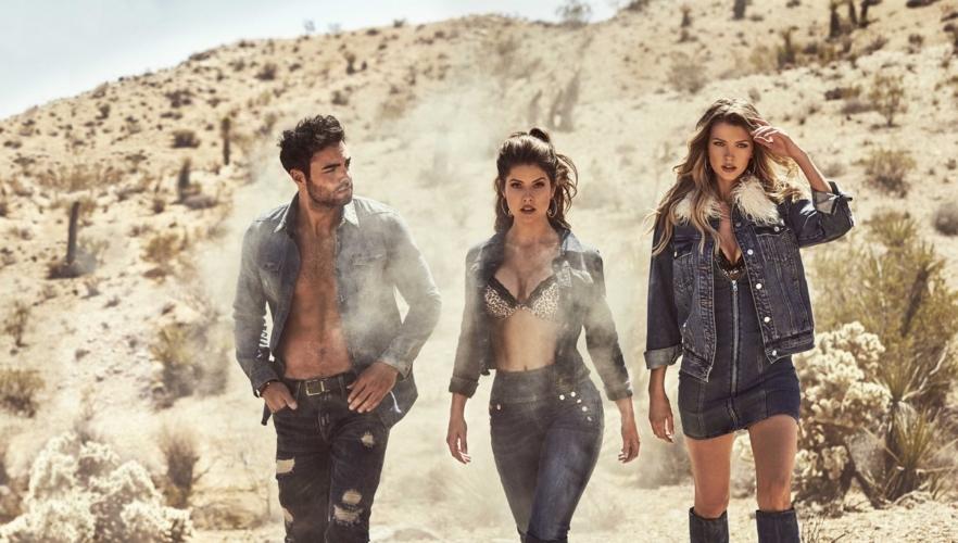 Guess campagna autunno inverno 2018 2019: il road-trip attraverso il deserto californiano