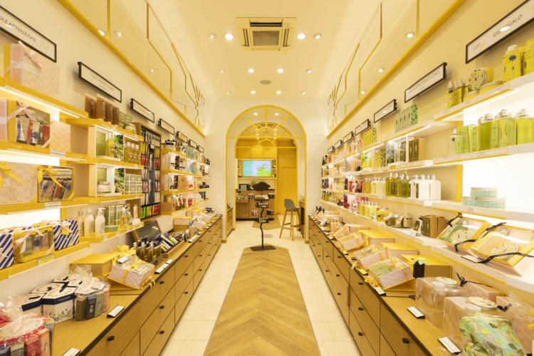 L'Occitane boutique Firenze Calzaiuoli: il nuovo concept che punta al benessere