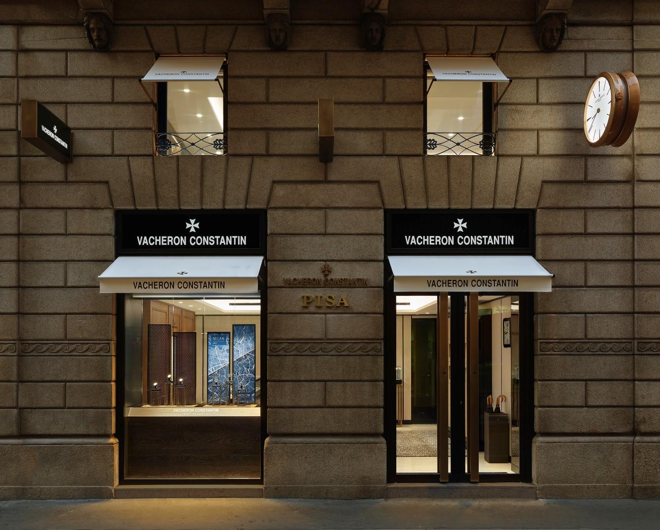 Vacheron Constantin boutique Milano