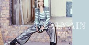 Balmain Milla Jovovich campagna autunno inverno 2018 2019: il video e le foto