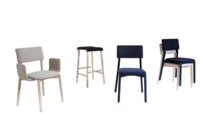 Blifase sedie 2018: 5 sedute per arredare ogni ambiente