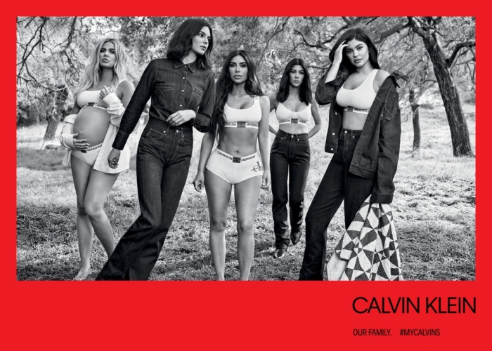 Calvin Klein Kim Kardashian campagna autunno 2018: le linee Underwear e Jeans