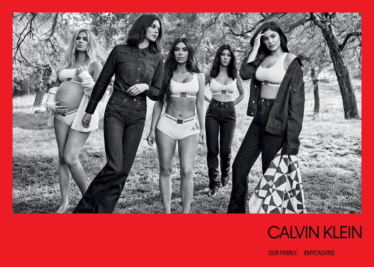 Calvin Klein Kim Kardashian campagna autunno 2018