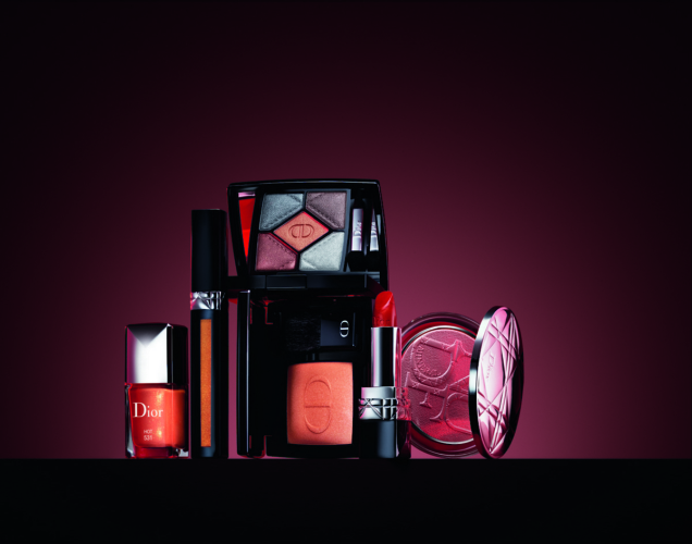 Dior Make-Up autunno 2018 En Diable: tonalità incandescenti, piccanti e fumé