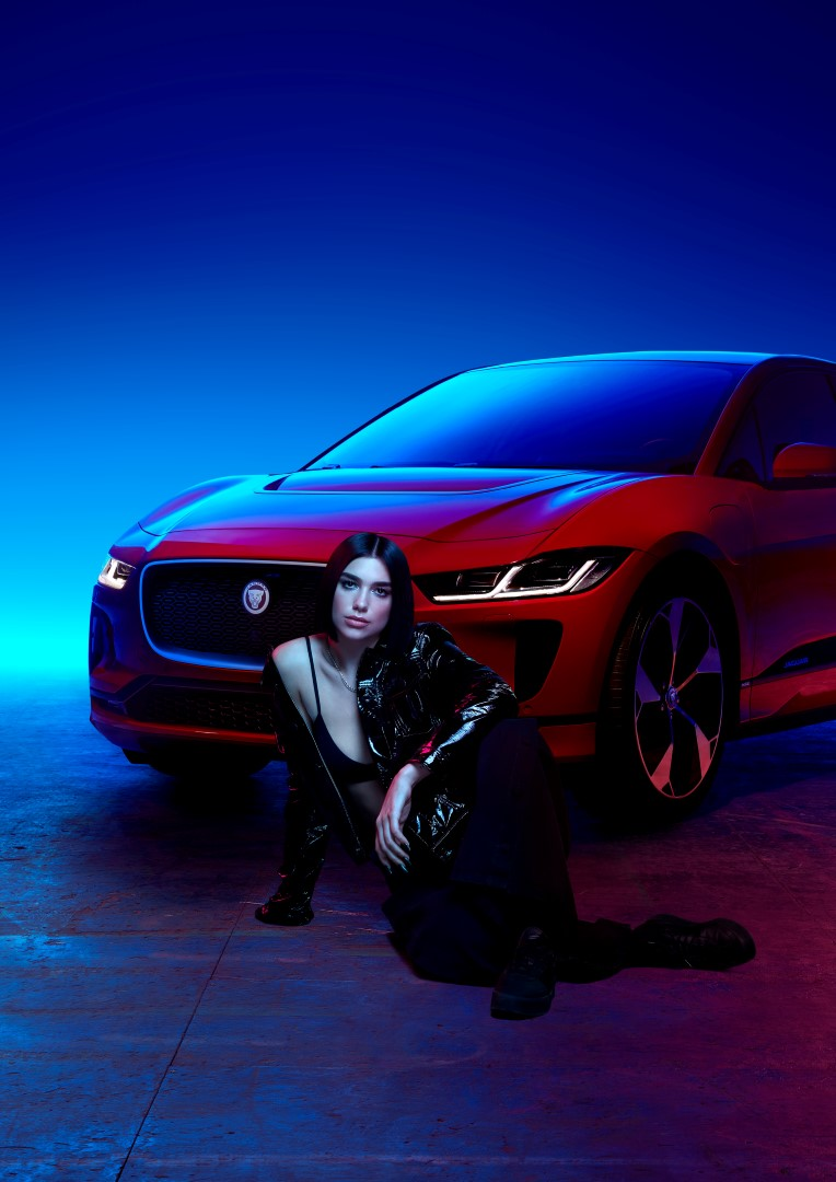Dua Lipa Jaguar 2018