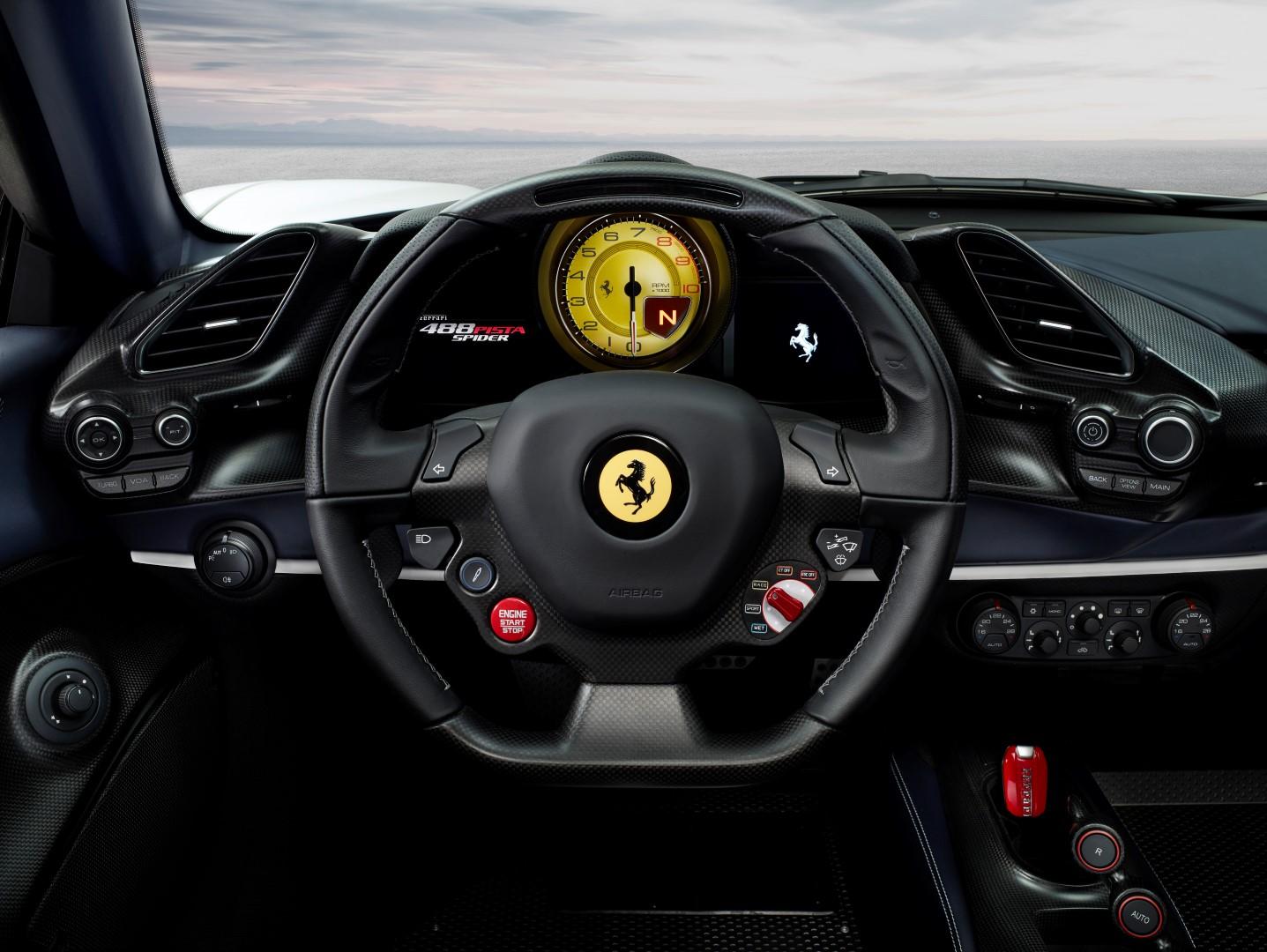Ferrari 488 Pista Spider 2018