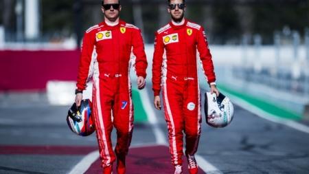 Formula 1 Monza 2018 Ray-Ban Scuderia Ferrari: Sebastian Vettel e la pit-stop experience
