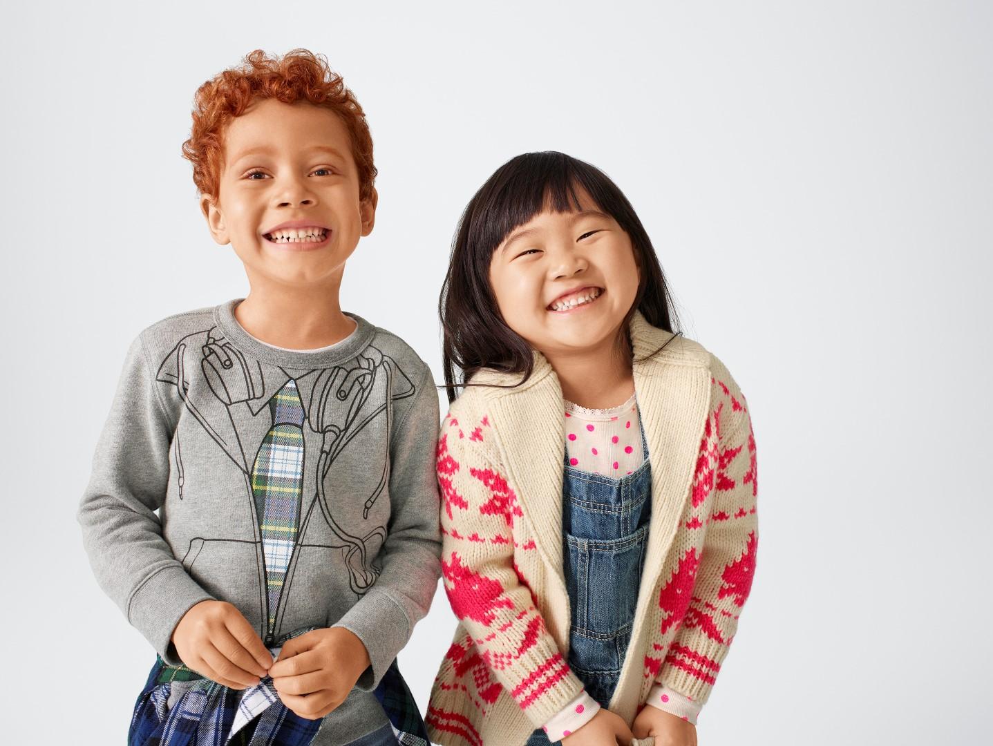 Gap Kids Sarah Jessica Parker autunno inverno 2018 2019