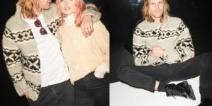 J Brand Jeans campagna autunno inverno 2018 2019: protagonisti Elsa Hosk e Tom Daly
