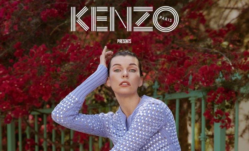 Kenzo The Everything film 2018 Milla Jovovich: il debutto alla regia di Humberto Leon