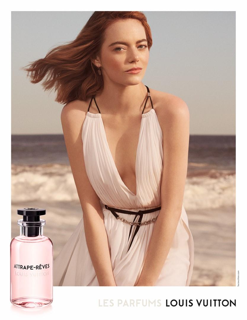 Louis Vuitton Emma Stone campagna Les Parfums
